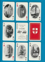 Advertising souvenir playing cards British Travel assertion .London views